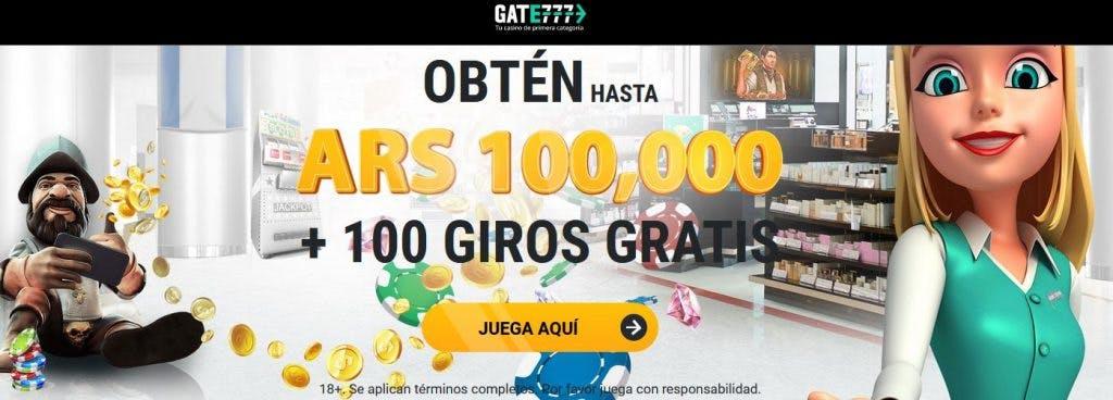 Gate777 casino online en Argentina