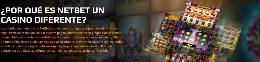 Netbet casino online en Argentina